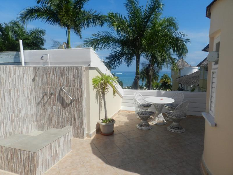 Patio with Private Shower