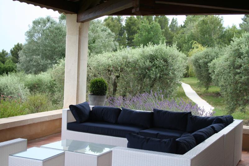 Terrasse pour discussion, apéritif ou lecture... au choix