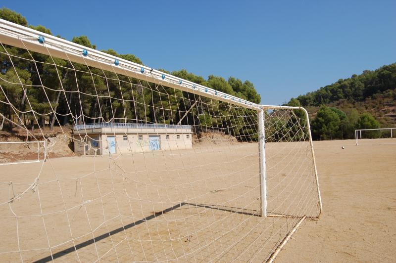 Soccer field, Vilaplana