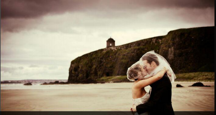 Wedding pictures on beach