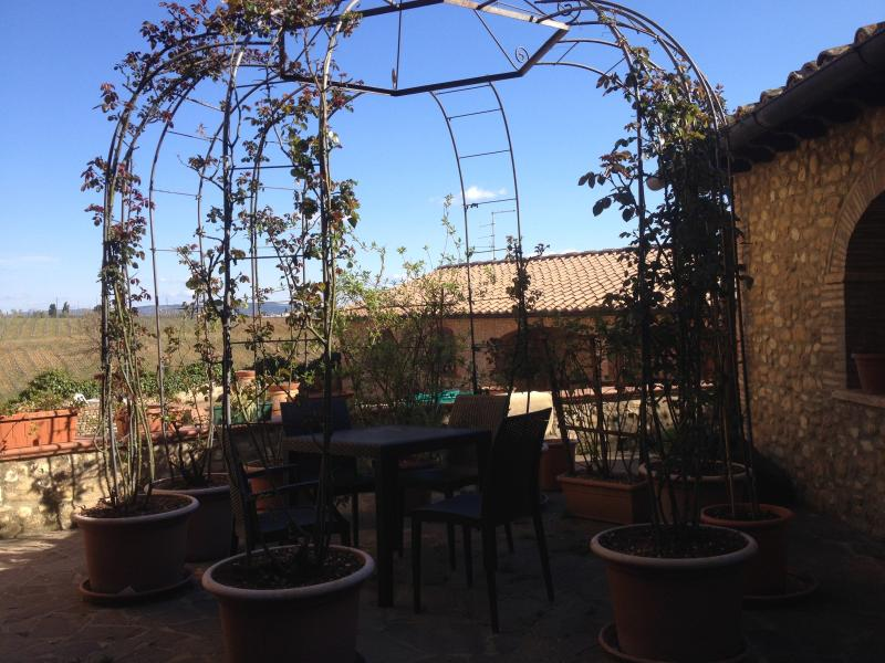 Outside dining terrace II