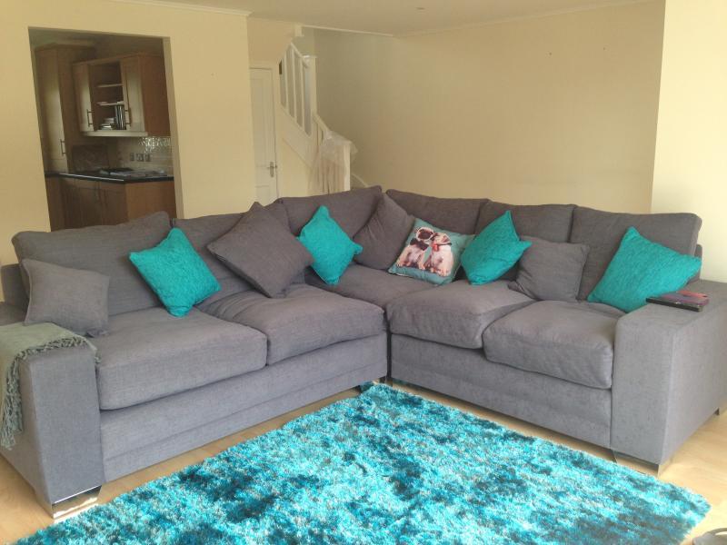 Roomy lounge