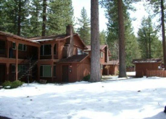 V18-Great upgraded condo with summer pool, half block to free ski shuttle, walk, alquiler de vacaciones en South Lake Tahoe