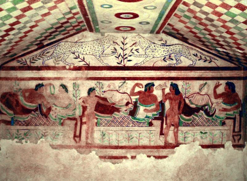 Tarquinia, the Etruscan cities