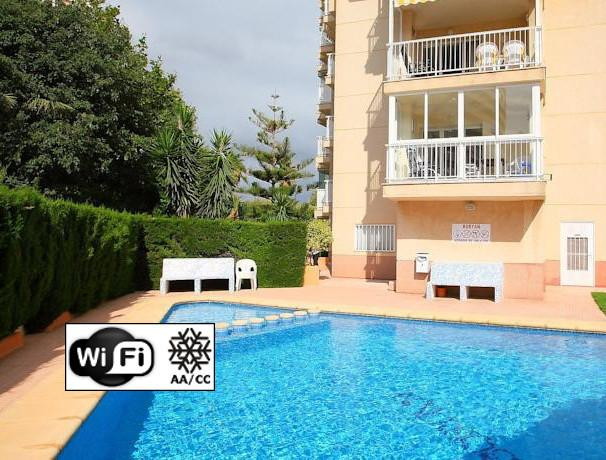 BOBYAN 2A - Apartment with pool close to the beach in Calpe, holiday rental in Calpe