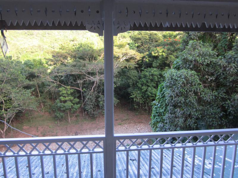 Vista desde el balcón de arriba
