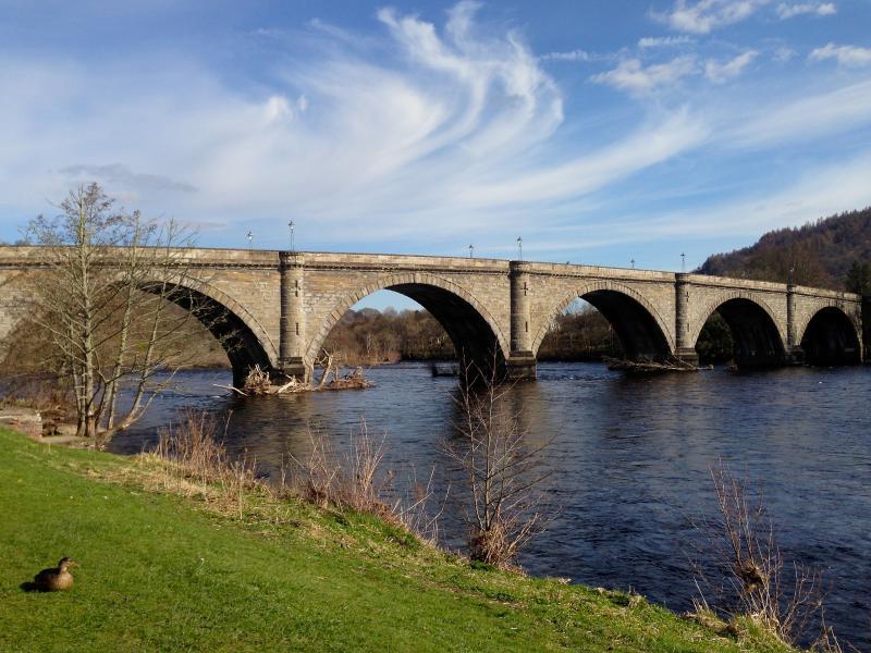 Dunkeld Thomas Telford ponte 1808