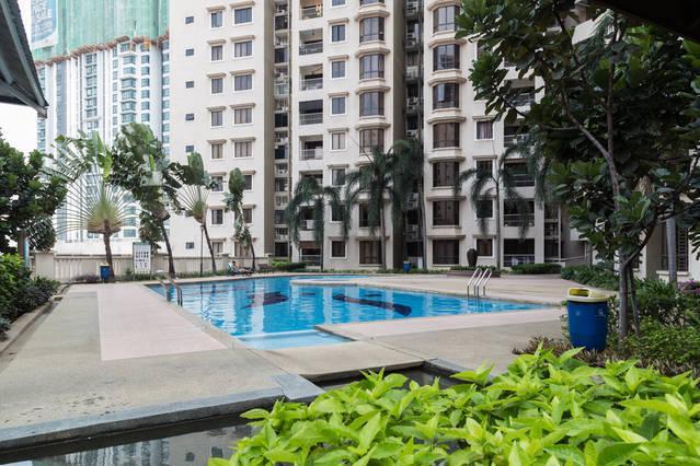 Comfy Twin Room, Casa Tropicana Condo, holiday rental in Petaling Jaya