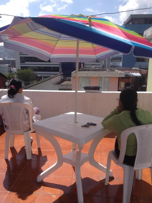 Guests 99m 2 terrace. with furniture, umbrellas, theme Spa, hammock next