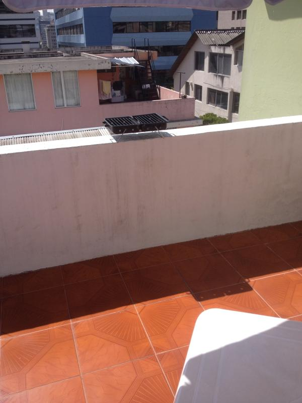 BBQ. for use of the guests on the terrace, 99 meters extension