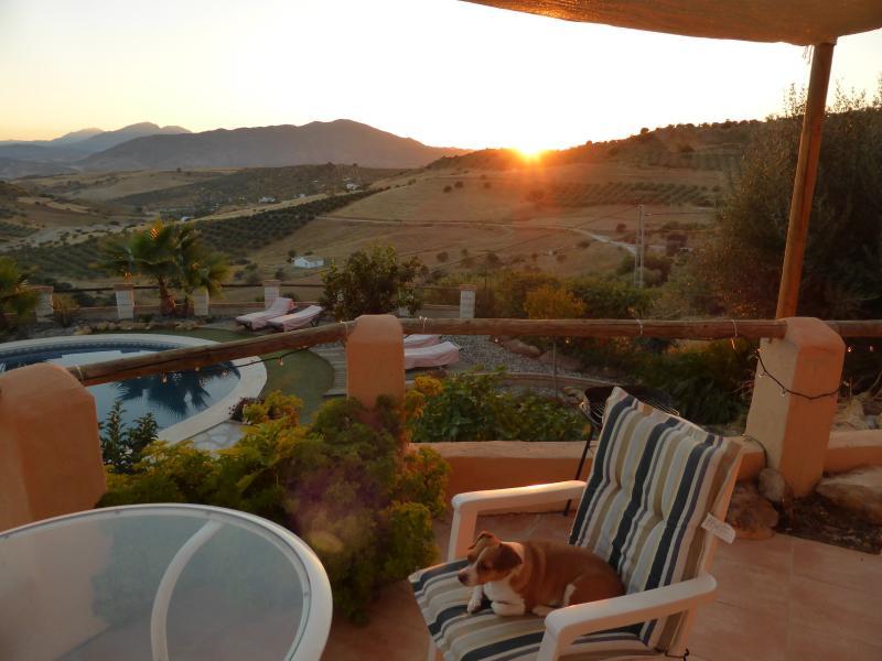 Sunset at Casa Harriet