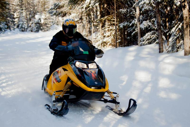 Ride your snowmobile right onto the PA Wilds Snowmobile Trails. No need to trailer once you arrive.