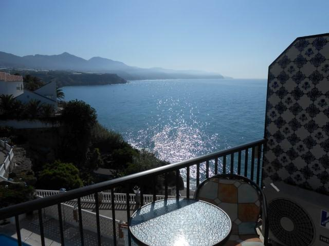 Beautiful views over Mediterranean from 11 metre balcony.....