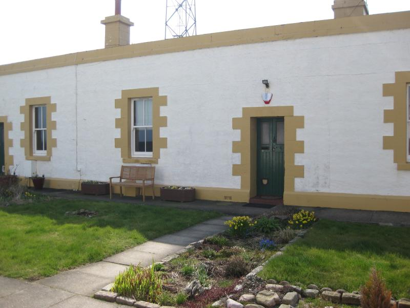 Two bedroomed cottage inside the Aberdeen Lighthouse compound
