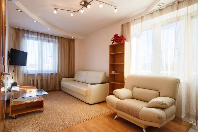 двух комнатная, alquiler vacacional en Siberia