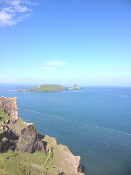 Worm's Head, less than 10 minutes away