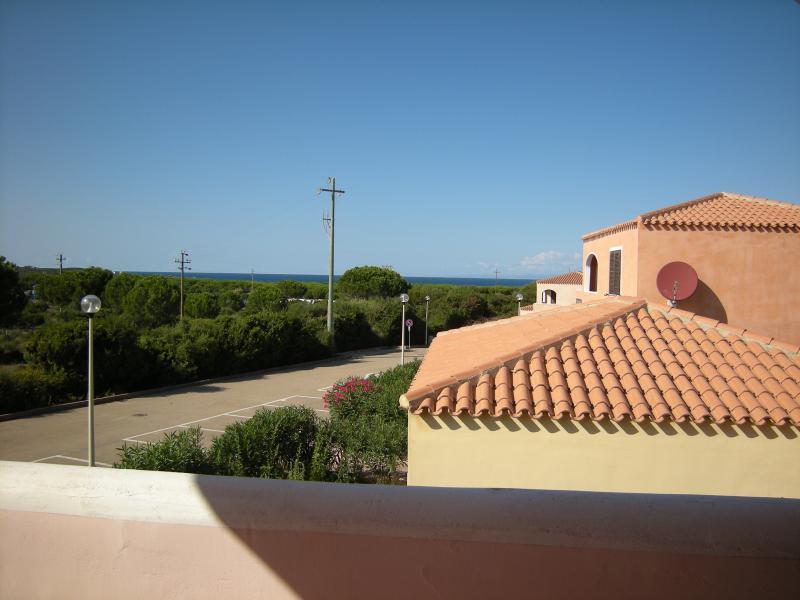da Simo - vista dalla loggia - Mare & Mirice Case Appartamenti Vacanza