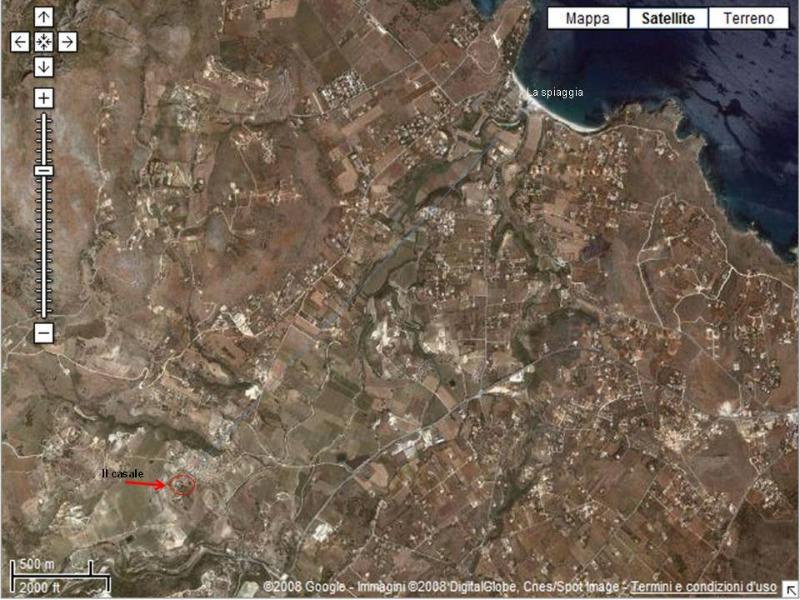 the location of the House in baglio