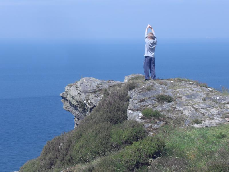 Coastpath is 75yds from Bosun's Cottage
