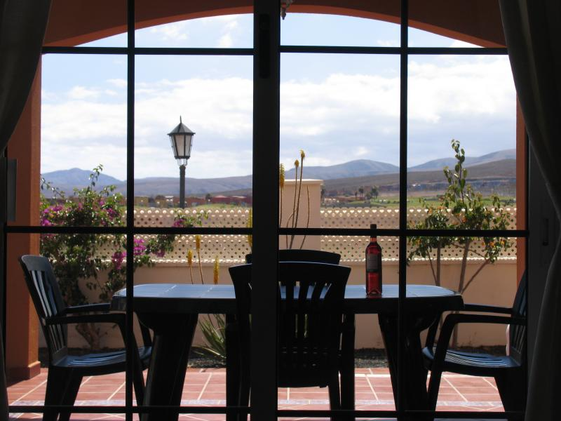 have lunch on the terrace with a view across the greens
