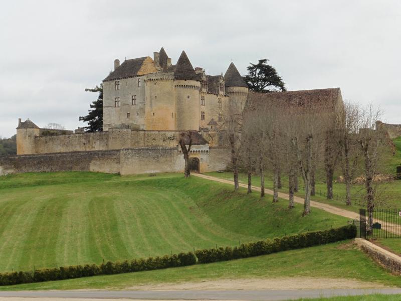 Visit the magnificent Chateau Fenelon a short drive away