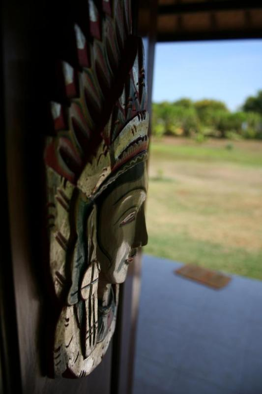 Bali door