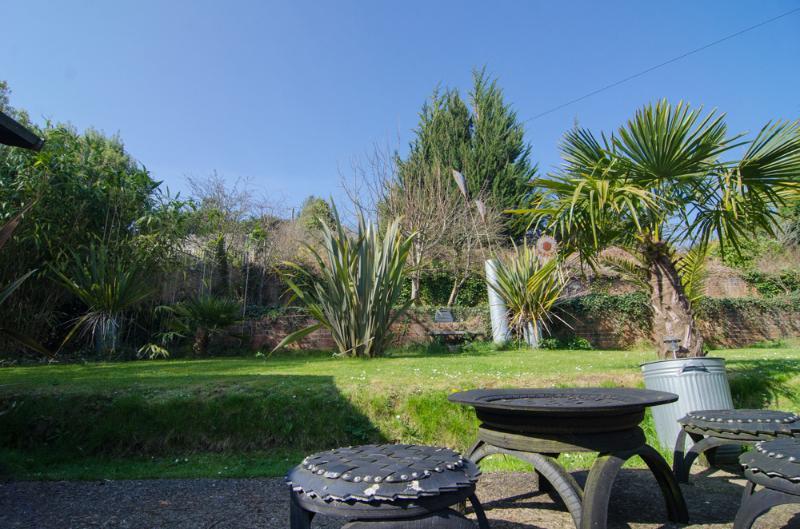 Large grass terrace