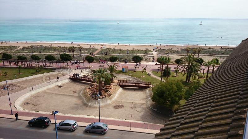 Over 50 METERS FROM THE BEACH! View from the roof of the block.