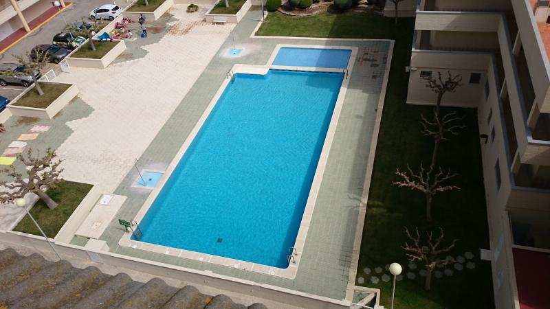 Pool 1 from rooftop