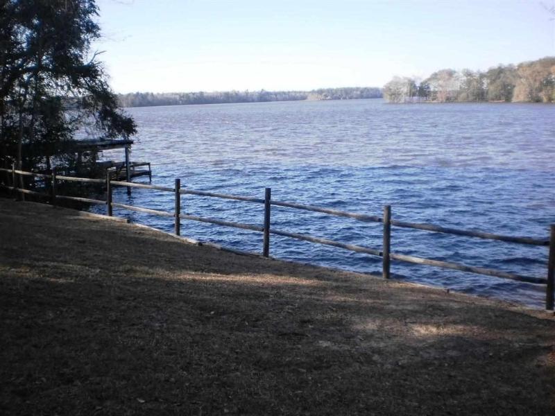Talquin Cove tem uma vista maravilhosa do lago!