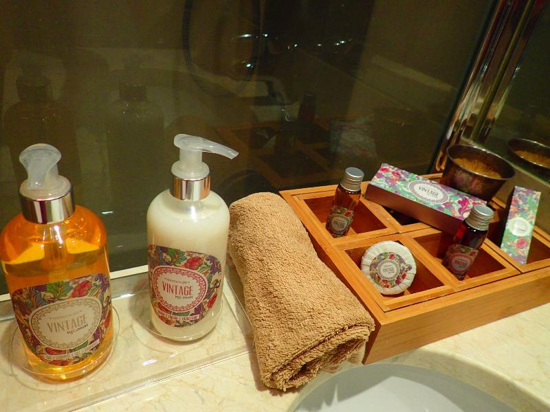 Higyenics products ( we give to our guests )