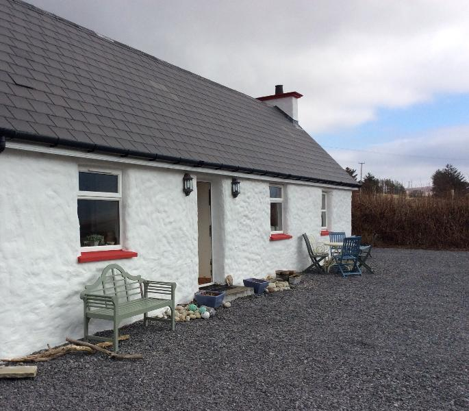 Our beautiful cottage on the Wild Atlantic Way