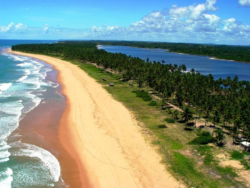 Our beach (and sweet water lake, perfect for swimming and kayaks-available)