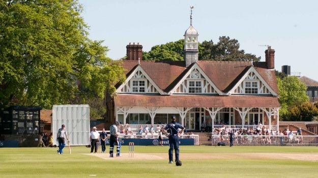 Cricket pavilion University parks
