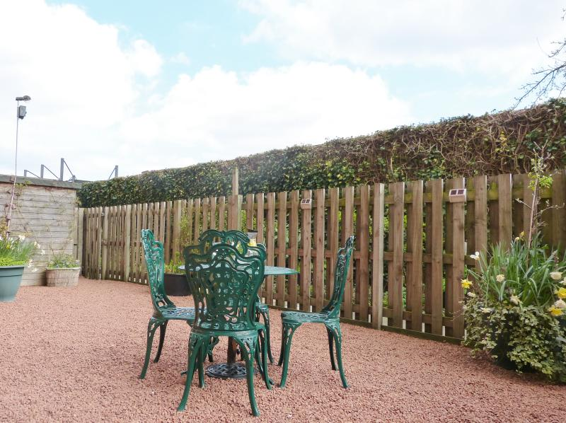 Large south facing patio/garden for your private use.