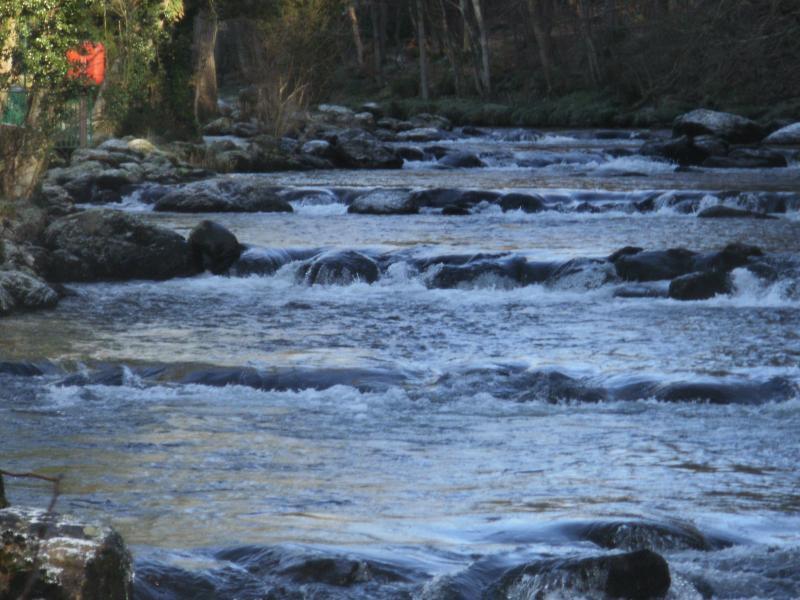 Water fall in Glan Gwna Park