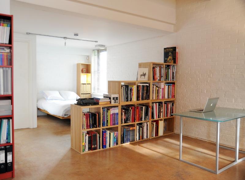 Bedroom area view
