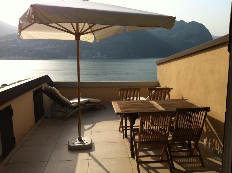 Montisola Lago Iseo CasaBellaVista con piscina, vacation rental in Monte Isola