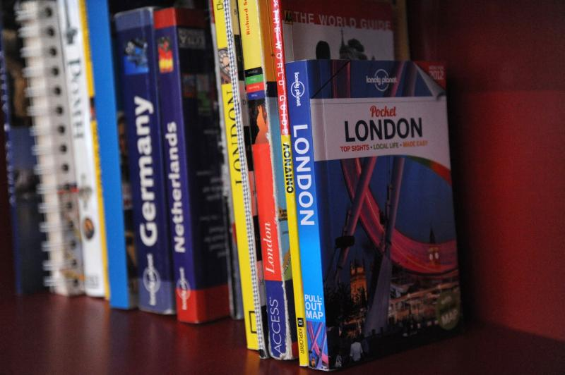 Some of our guide books