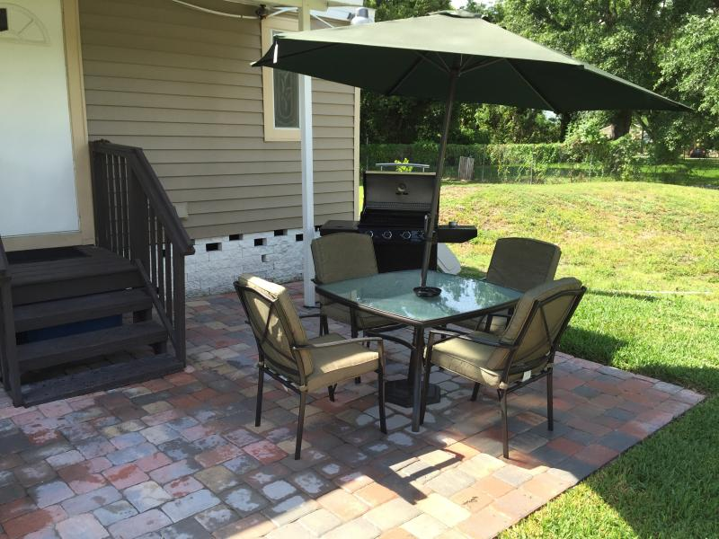 Back Yard, Patio , furniture and BBQ