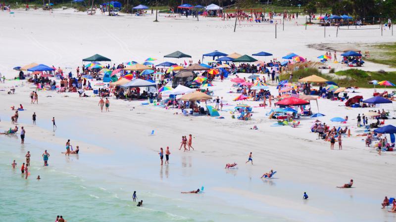 Touches de Siesta Beach #1 appréciation plage en Amérique du Nord