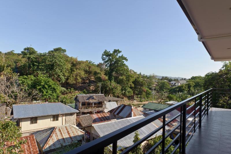 Utsikt från översta våningen