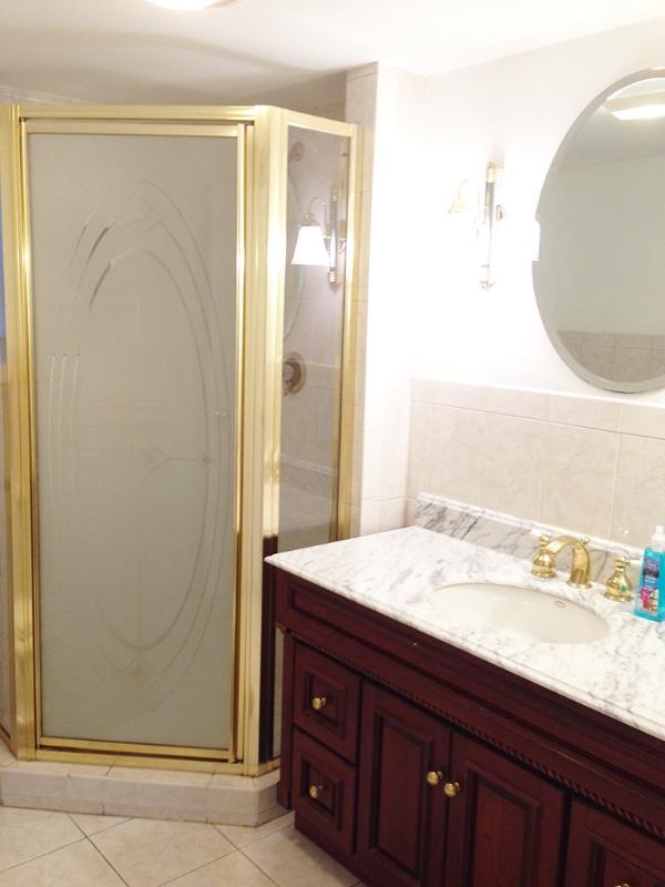 Bathroom with Standing Shower on 1st Floor