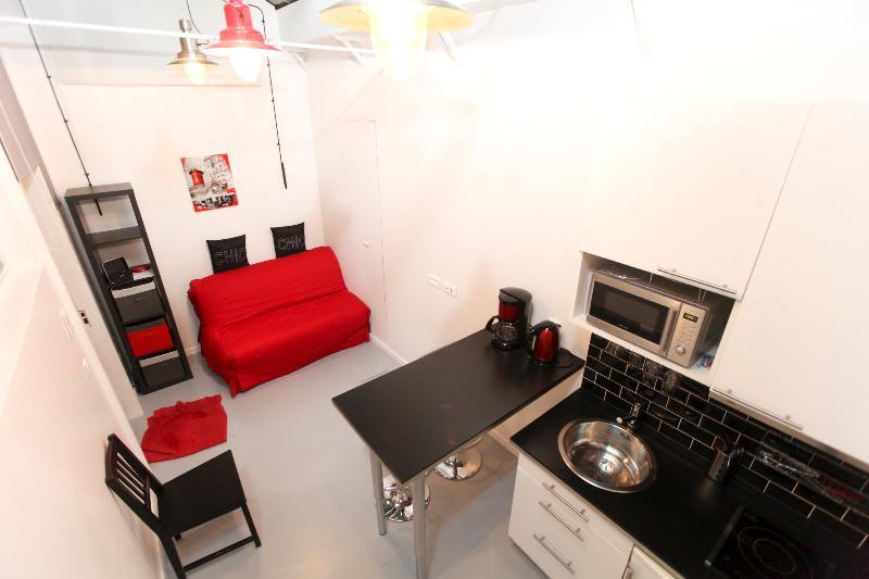 Small studio in the Marais