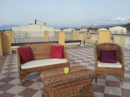 Roof top terrace for those sunny days