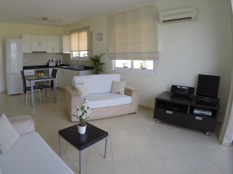 Appartement 1 chambre, salon à aire ouverte