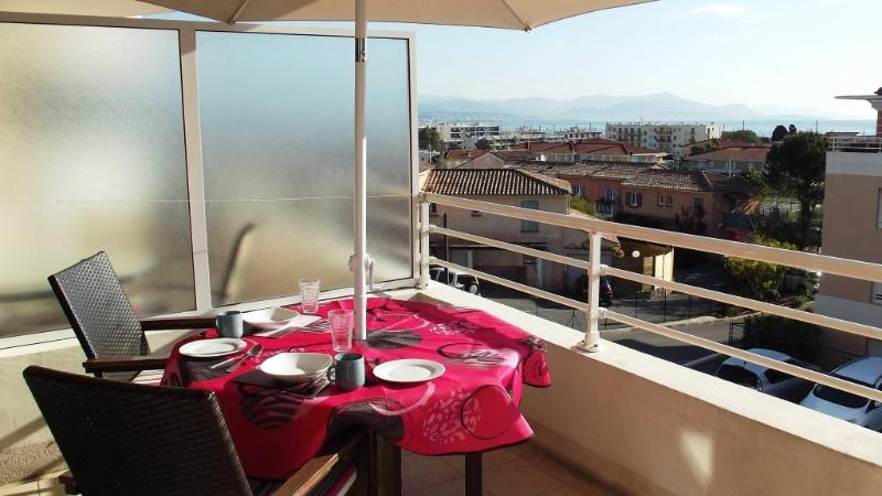 Dine in Style with fabulous views of the Med., Nice and the Alps in the background