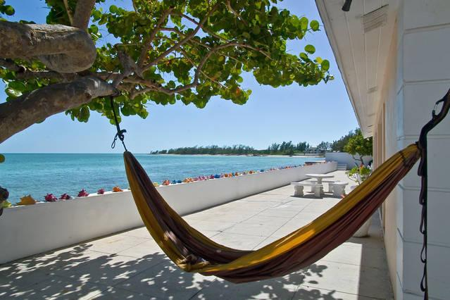 Rest, Relax in the hammock overlooking the Sea!
