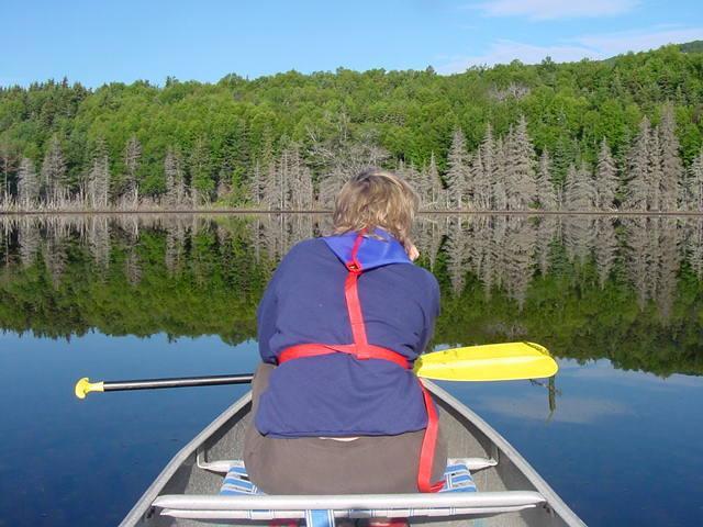 En el estanque de Maggie - un gran lugar para meditar o tal vez atrapar una trucha.