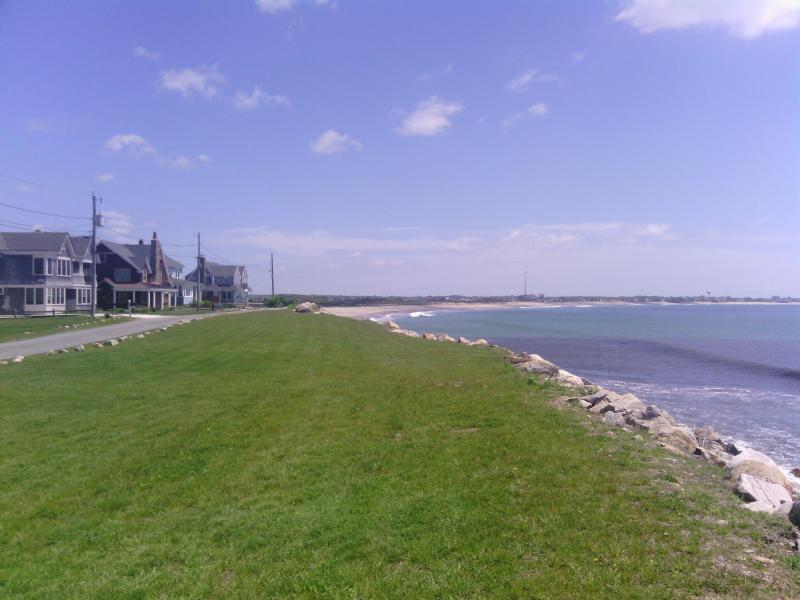 Oceanfront - View from Front Yard